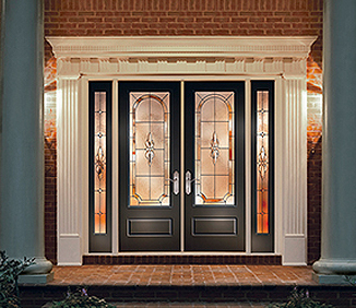 Entry doors bowling green ky midsouth lumber for Therma tru double entry doors