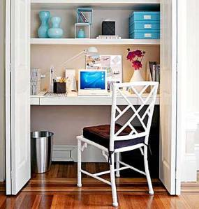 closet office- my home ideas