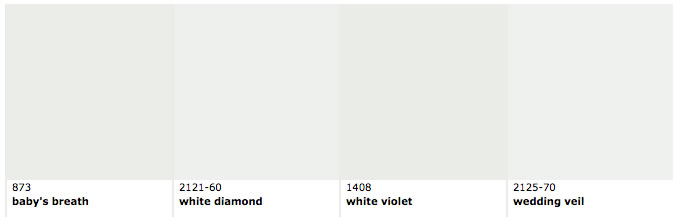 similar colors