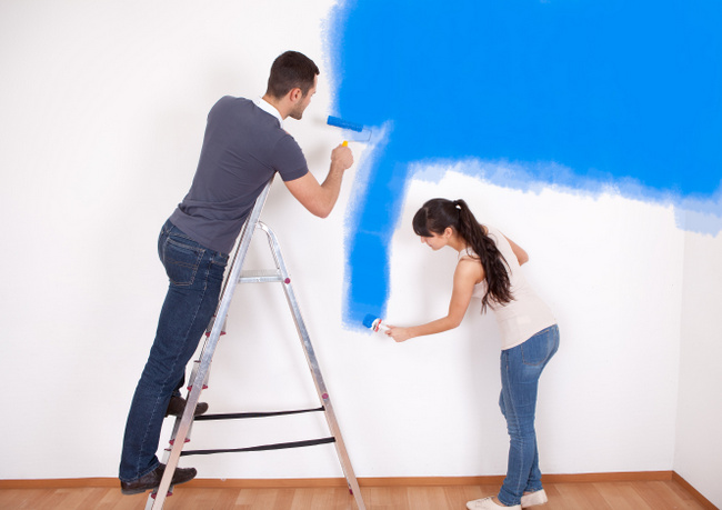 Video Painting A Room Top To Bottom